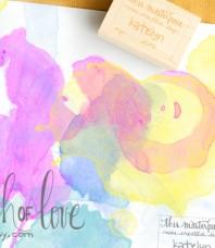 Childs Art Archive Custom Stamp